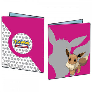 Pokemon TCG A4 9 Pocket Portfolio Eevee 2019