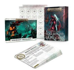 Games Workshop Warscroll Cards: Soulblight Gravelords ( 1 per person )