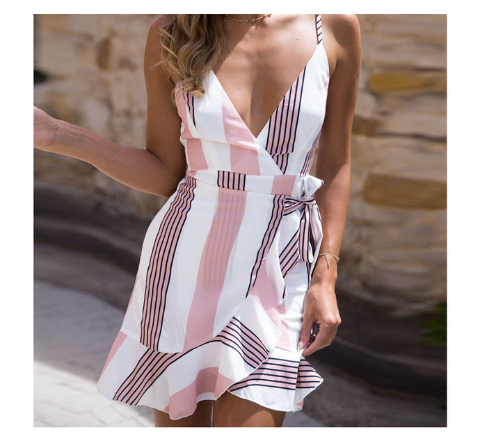 Mini Boho Beach Dress