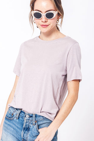 Keep Cool Basic Tee Shirt- Tan