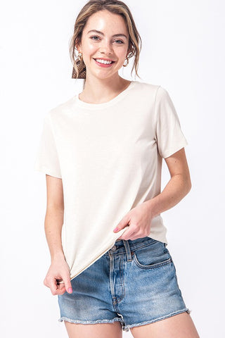 Keep Cool Basic Tee Shirt- White