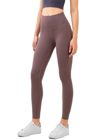 Butter Soft Crop Leggings- Mauve