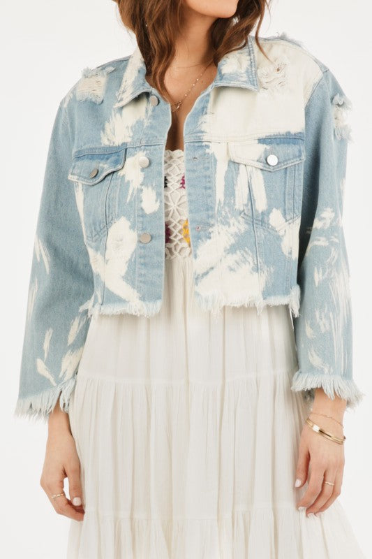 Bleach Babe Denim Jacket