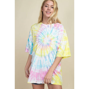 Sweet As Candy Tie Dye Tee