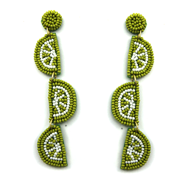 Lime Time Earrings