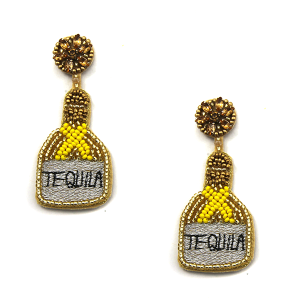 Salt & Lime Earrings- Gold