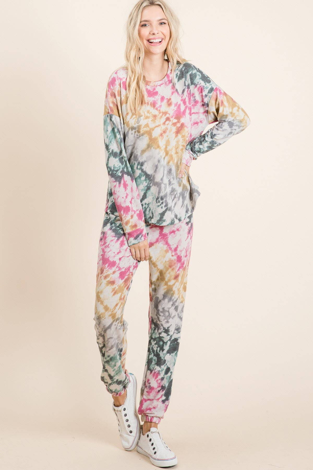Matrix Tie dye Lounge Set