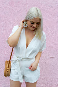 Rock This Linen Romper