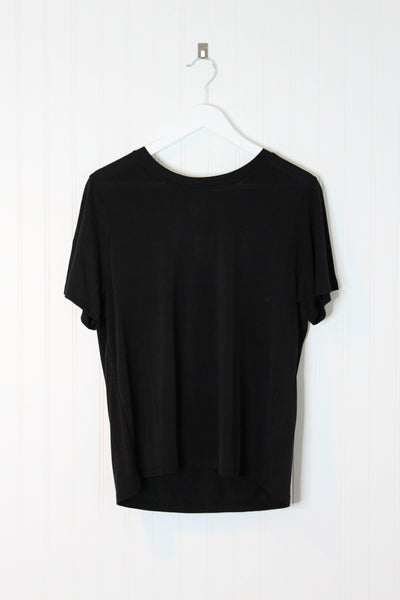 Jane Basic Tee Shirt- Black