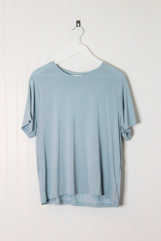 Jane Basic Tee Shirt- Baby Blue