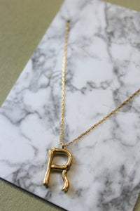 Chloe Letter Necklace- R