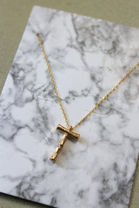 Chloe Letter Necklace- T