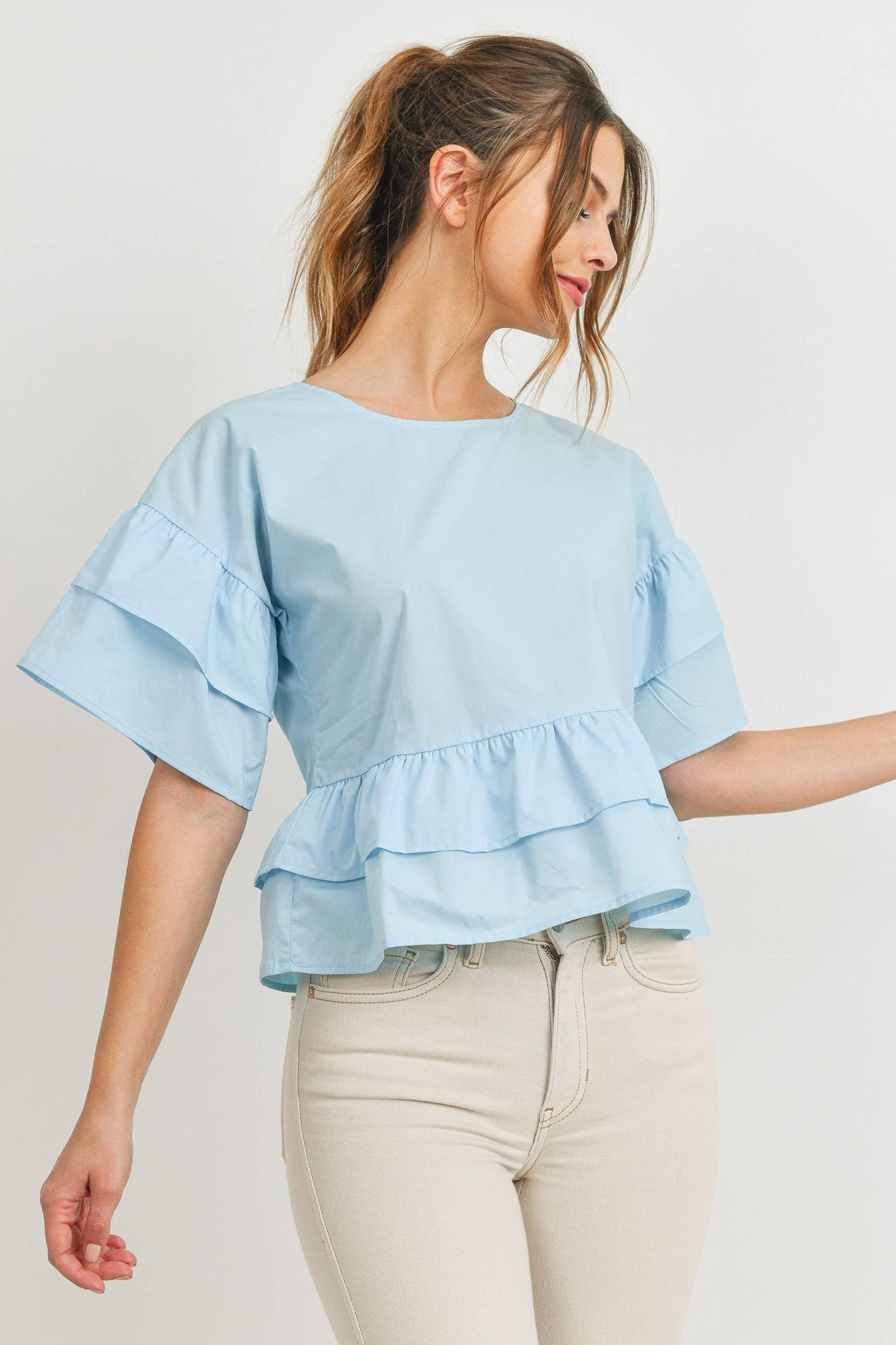 My Lucky Ruffle Top
