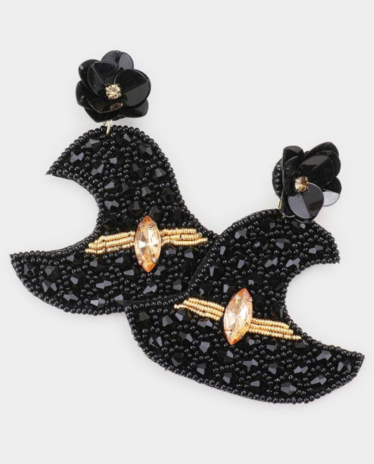 Witches Hat Earrings