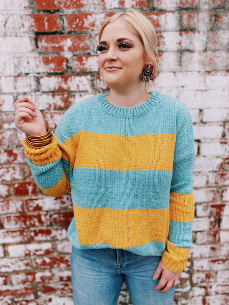 Sparkle On Chenille Sweater