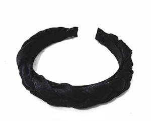 Braided Headband- Black