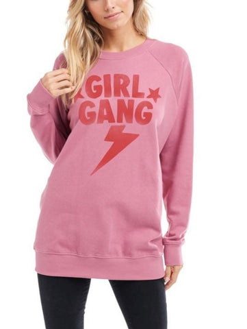 Girl Gang Pullover Sweatshirt