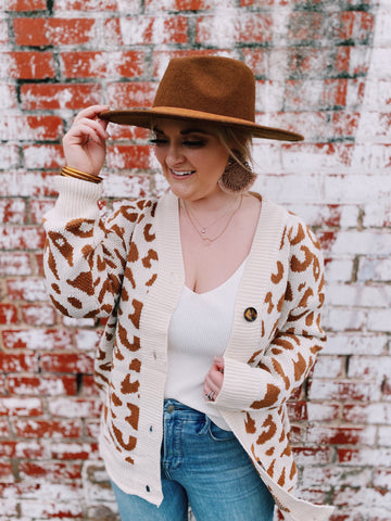 Spot On Leopard Cardigan