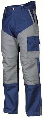 645503 Projob Mens Work Trousers With Cordura Reinforcements
