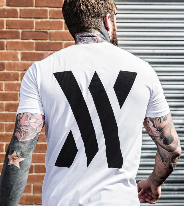 Achieve Front & Back T-Shirt - White