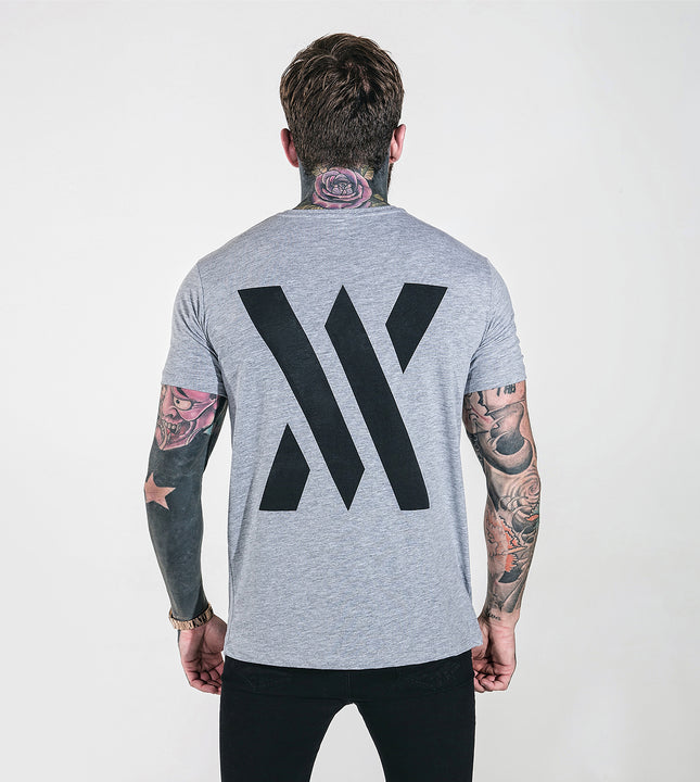 Achieve Front & Back T-Shirt - Grey