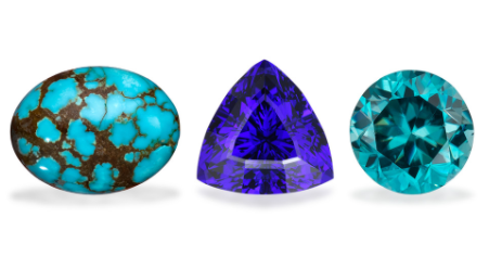 Blue Topaz, Tanzanite, and Turquoise – The December Birthstones