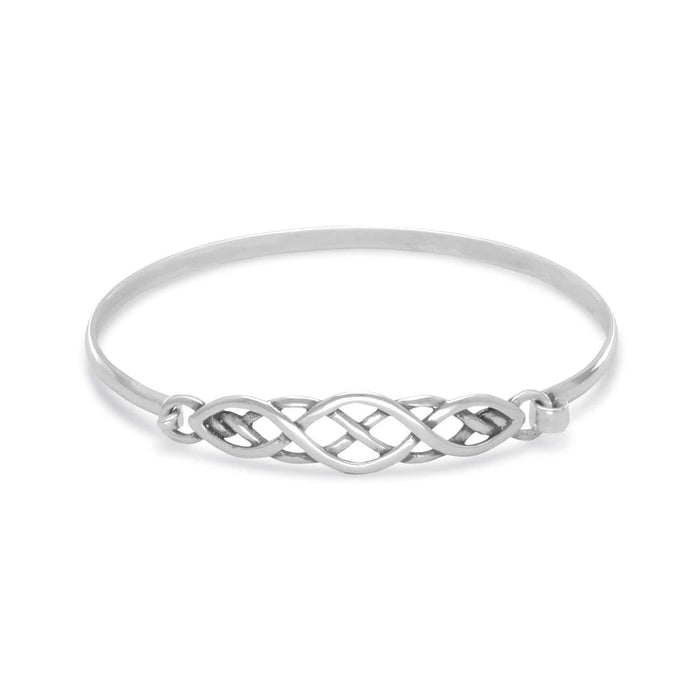 Bracelets Celtic Style Bangle angelucci-jewelry