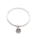 Bracelets Solitaire Angel Charm Bangle angelucci-jewelry