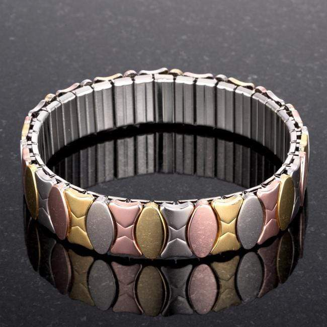 Bracelets Tritone 13mm Stainless Steel Stretch Bracelet angelucci-jewelry