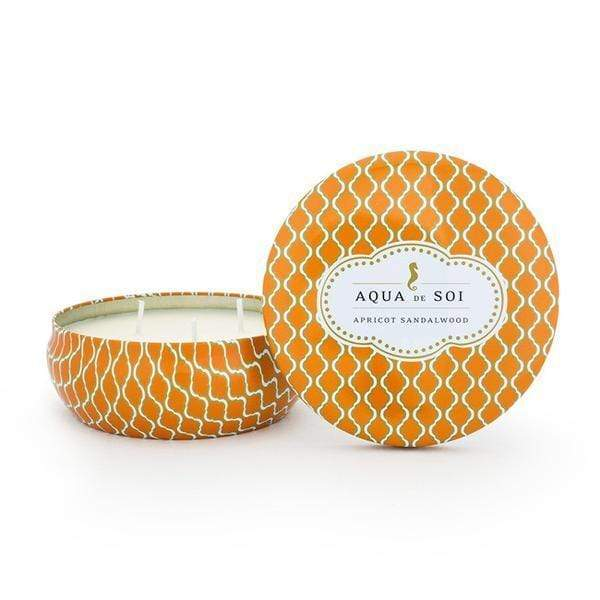 Candles Aqua de SOi Apricot Sandalwood 21oz Tin angelucci-jewelry