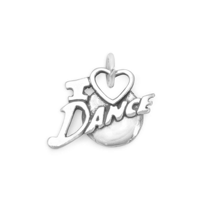 Charms I Love Dance Charm angelucci-jewelry