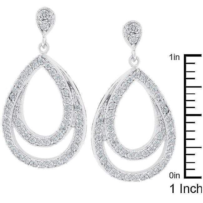 Earrings Evening Drop Earrings angelucci-jewelry