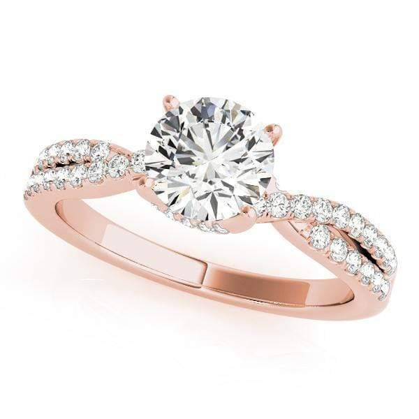 Engagement Rings 1 / 14kt / Pink Engagement Rings New Bridal angelucci-jewelry