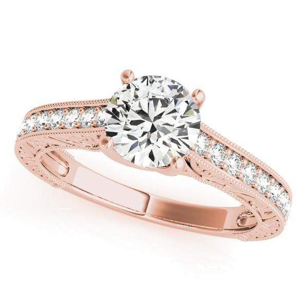 Engagement Rings 1 / 14kt / Pink Engagement Rings Trellis angelucci-jewelry