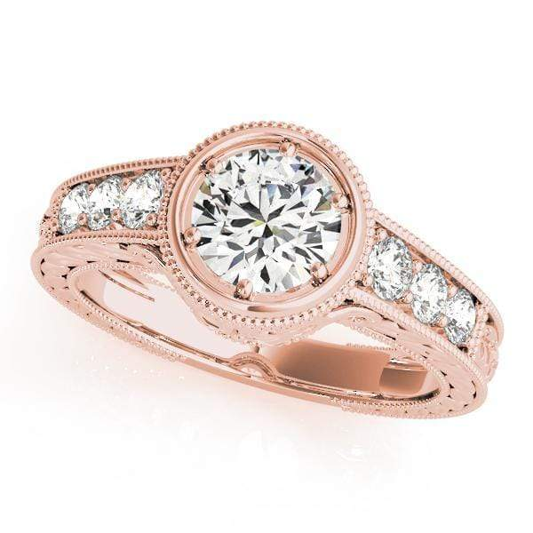 Engagement Rings 1 / 14kt / Pink Engagement Rings Vintage angelucci-jewelry