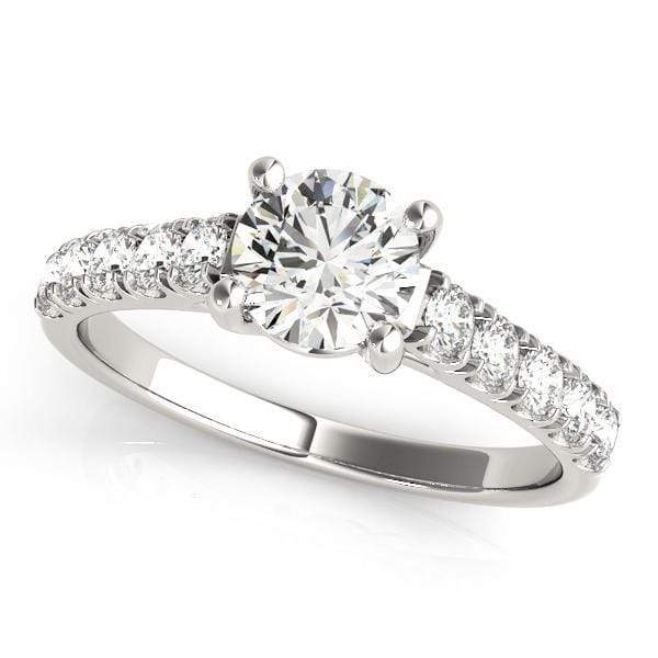 Engagement Rings 1 / 14kt / White Engagement Rings Trellis angelucci-jewelry