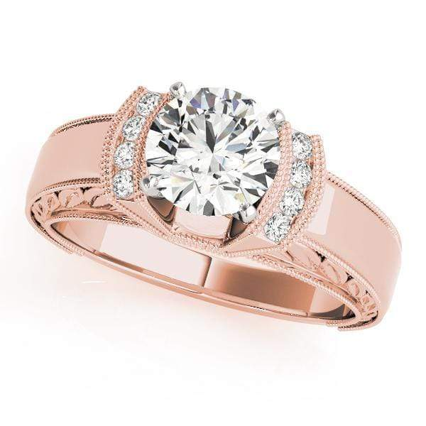 Engagement Rings 14kt / Pink Engagement Rings Remounts angelucci-jewelry