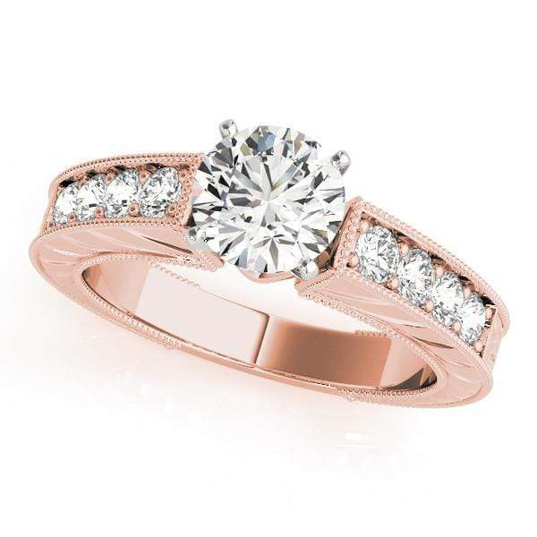 Engagement Rings 14kt / Pink Engagement Rings Vintage angelucci-jewelry