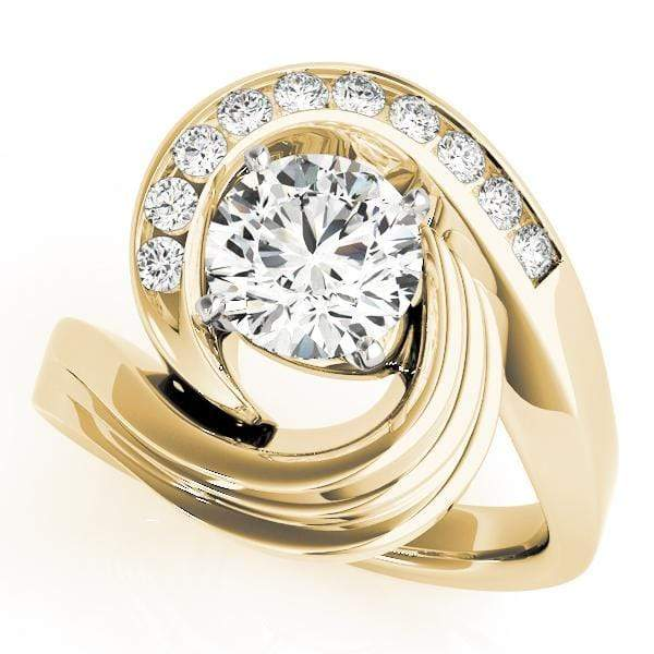 Engagement Rings 14kt / Yellow Engagement Rings Remounts angelucci-jewelry