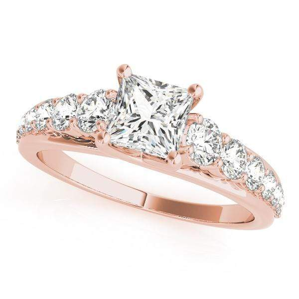 Engagement Rings 5.3 / 14kt / Pink Engagement Rings Trellis angelucci-jewelry