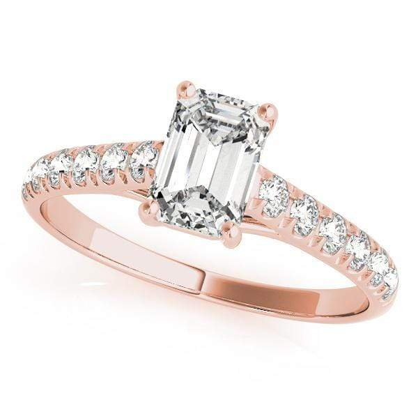 Engagement Rings 5X3 / 14kt / Pink Engagement Rings Trellis angelucci-jewelry
