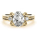 angelucci-jewelry-3-Stone Art-Deco Oval Shape Solitaire Diamond Engagement Ring with Rope Pattern Center Band