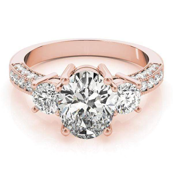 Engagement Rings Engagement Rings 3 Stone Oval angelucci-jewelry