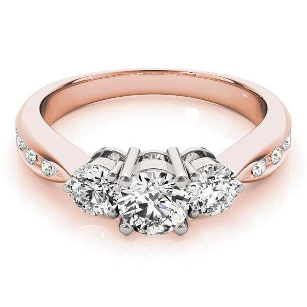 Engagement Rings Engagement Rings 3 Stone Round angelucci-jewelry