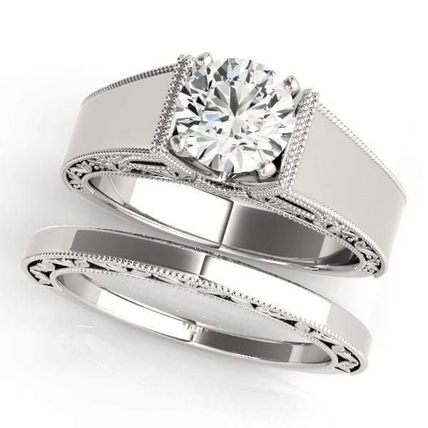 Engagement Rings Engagement Rings Solitaires Peg Head Mounts (any shape center) angelucci-jewelry