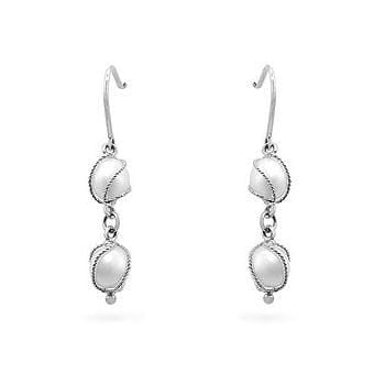 Fine Jewelry White Gold Pearl Drops angelucci-jewelry