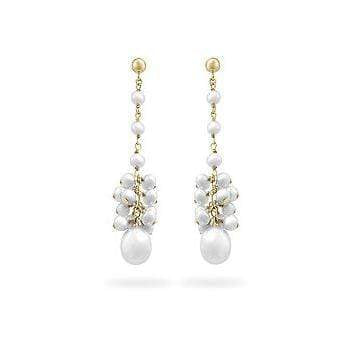 Fine Jewelry Yellow Gold Pearl Drops angelucci-jewelry
