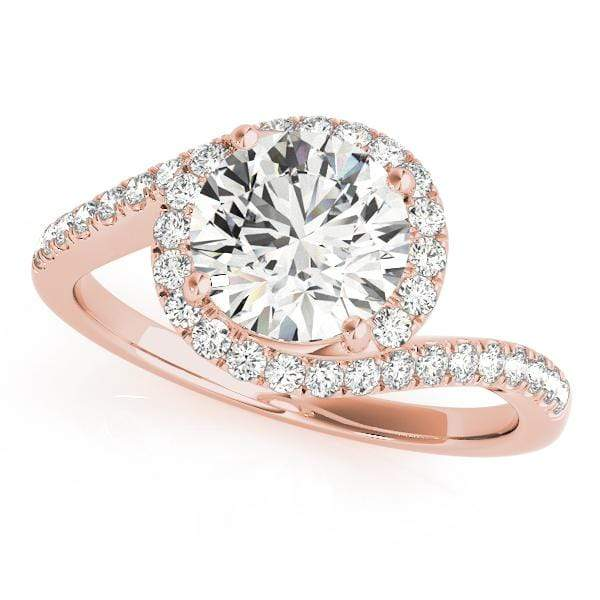 GemFindRing 12 / 18K Rose Gold / I1| H-I / 0.66-0.85 ENGAGEMENT RINGS BYPASS angelucci-jewelry