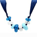 "Necklace 36"" VL023 N/A Resin Necklace with Synthetic in Multi Color angelucci-jewelry"