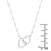 Necklaces .22 Ct Interlocking Hearts Necklace with CZ angelucci-jewelry